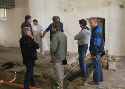 Restaurierung der Kirche 2011