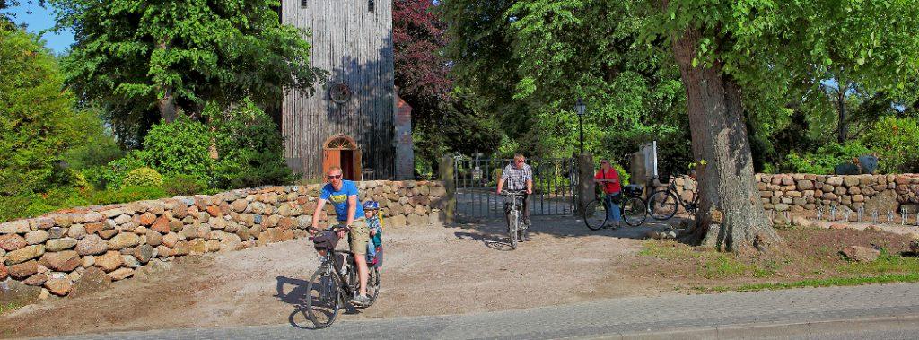 Radwege Kirche Kühlungsborn