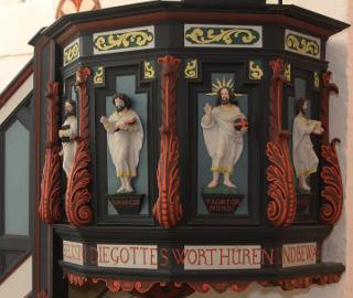 Rundgang durch die evangelische Kirche Kühlungsborn