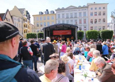 Ökumenische Feier des Pfingstfestes im Reformationsjahr 2017 in Schwerin