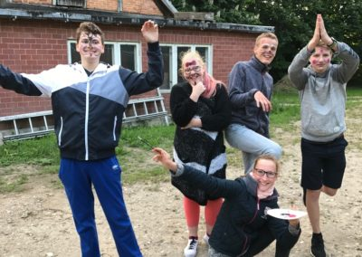 Begrüßung der neuen Mitglieder der jungen Gemeinde der evangelischen Kirche Kühlungsborn