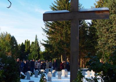 Volkstrauertag 2016 - Segnung des neugestalteten Soldatenfriehofs auf dem Alten Friedhof in Kühlungsborn