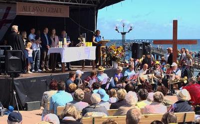10. Seebrückengottesdienst in Kühlungsborn - 2. Juli 2017, 10.30 Uhr an der Seebrücke in Kühlungsborn