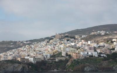Fahrt nach Griechenland auf die Kykladen
