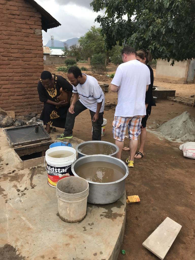 Ganz praktische Hilfe die ankommt mit Hilfe von Spenden aus Kühlungsborn