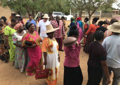 Der Frauenkreis verkauft Handgemachtes, um anderen zu helfen