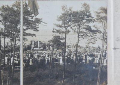Kreuznagelung 1915. Sammlung Kirchenchronik Kühlungsborn