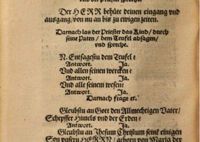 Aus der Kirchenordnung von 1540