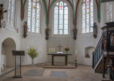 Altarraum nach der Renovierung
