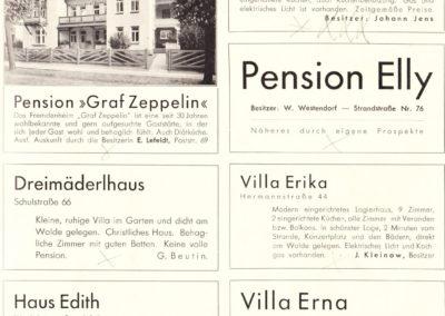 Aus dem Prospekt Arendsee 1934 - Sammlung Wolfganeg Baade