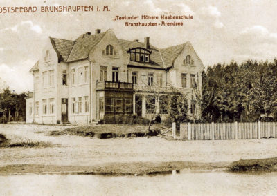 Höhere Knabenschule in Brunshaupten - Sammlung Wolfgang Baade