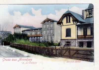 Strand-Hotel 1900 - Sammlung Fred Granitza