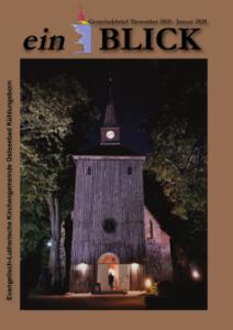 Download Gemeindebrief evangelische Kirchengemeinde Kühlungsborn - Dezember 2019 - Januar 2020